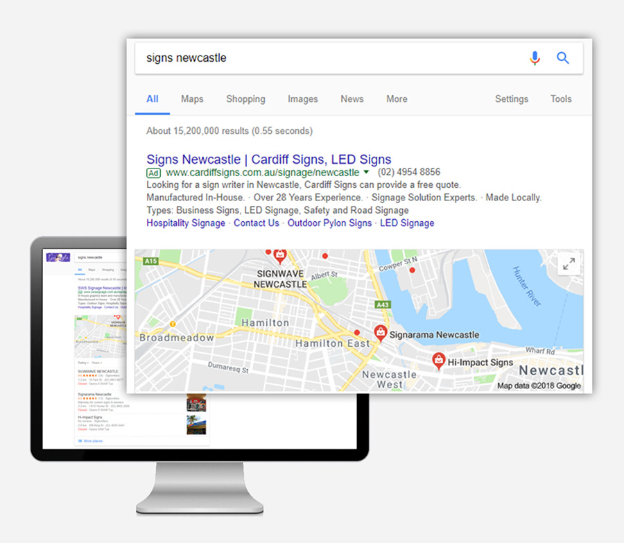 Digital Marketing Newcastle - AdWords