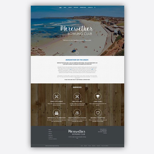 Merewether-Bowling-club-Website-Design