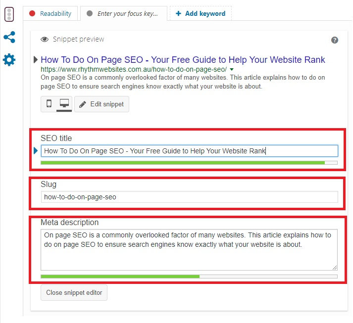 How to do on page SEO - Yoast SEO