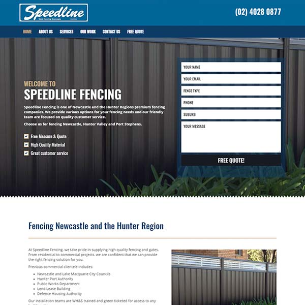 Speedline-Fencing-webScreenshot