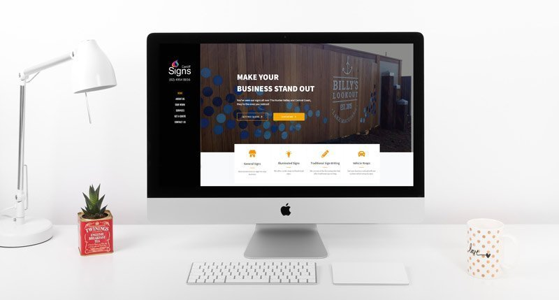 Cardiff Signs Web Development Project