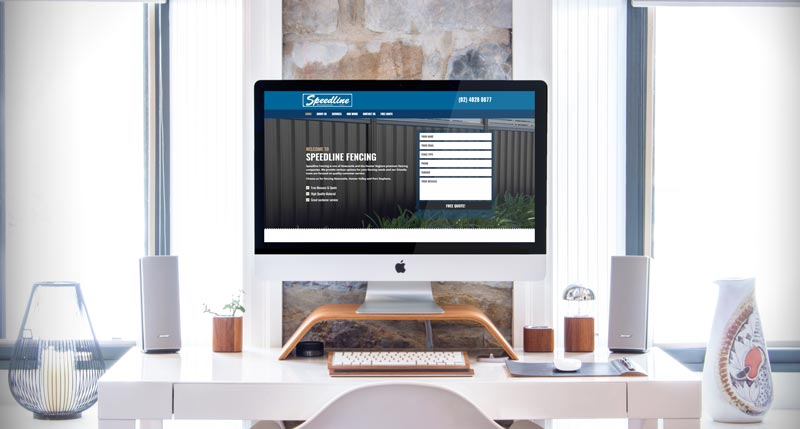 Speedline Fencing Website Development Project