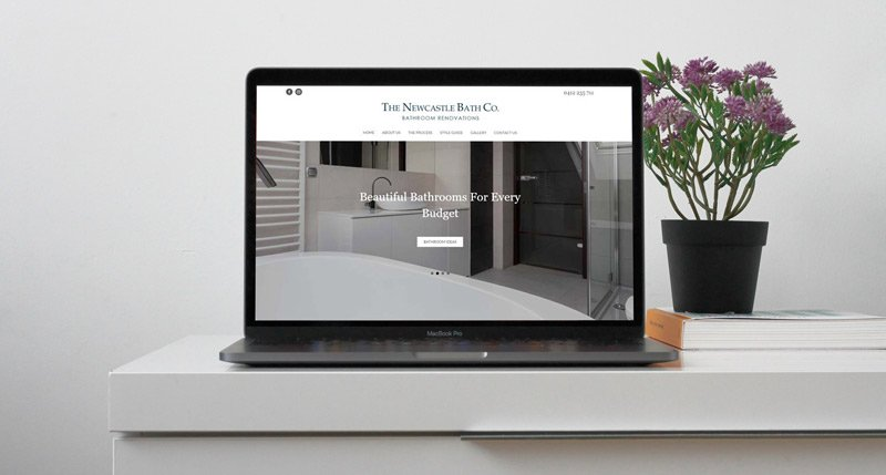 The Newcastle Bath Co. Website Design Project