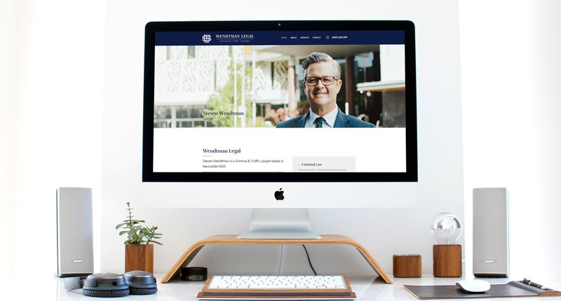 Wendtman Legal Website Design